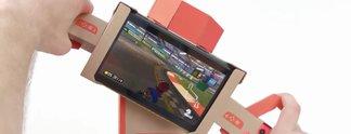 Mario Kart 8 - Deluxe: Jetzt mit Nintendo Labo kompatibel