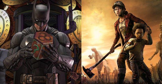 Batman und The Walking Dead gibt es jetzt im Humble Bundle