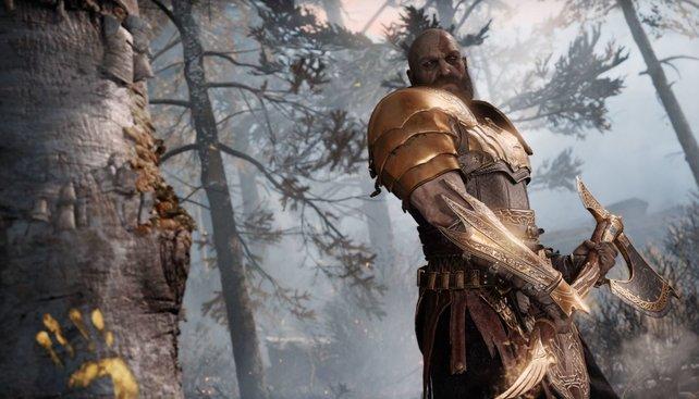 Im New Game+ von God of War gibt es neben einer neuen Rüstung noch mehr zu entdecken...