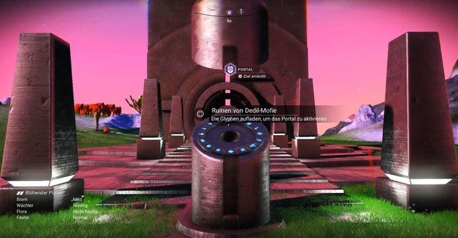 Ihr könnt jetzt Portale aktivieren und dadurch eure Freunde finden! (Bildquelle: Elca via Youtube)