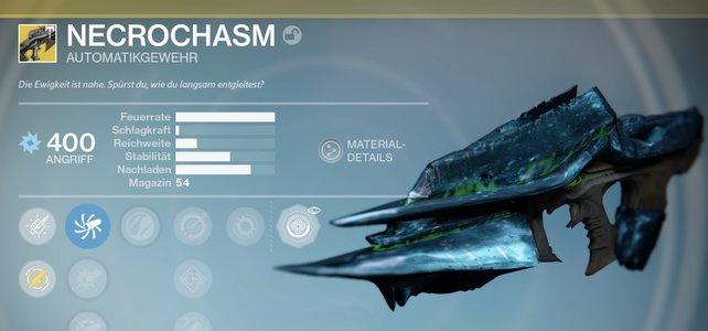 Ihr wollt die Necrochasm in Jahr 3 bekommen? Wir helfen euch bei der Quest in Destiny.