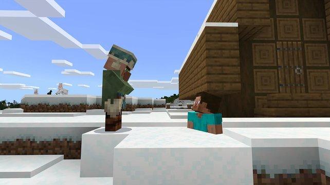 Neben neuen Blöcken halten auch regelmäßíg neue NPCs und Gegner Einzug in Minecraft.