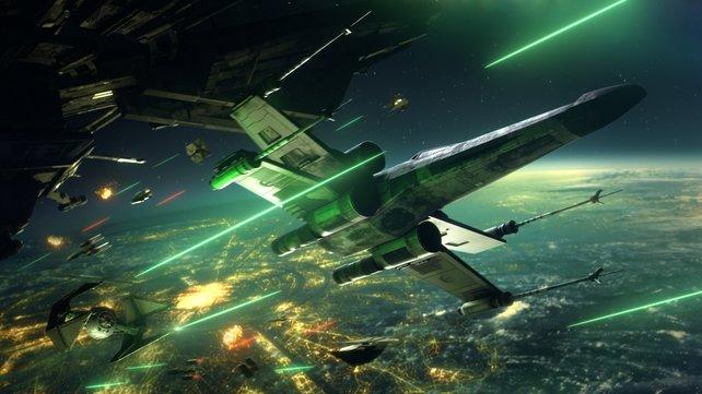 Star Wars: Squadrons ist eines der Highlights von EA in diesem Spielejahr.