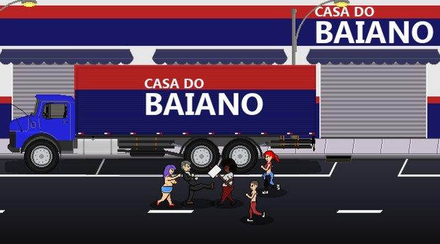 In Bolsomito 2k18 übt ihr als Präsidentschaftskandidat Gewalt gegen die Bevölkerung aus