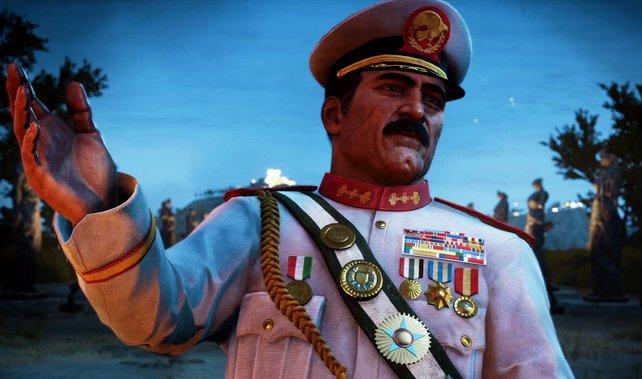 Sammelt seine Tagebücher ein, um mehr über den irrsinnigen Diktator zu erfahren.