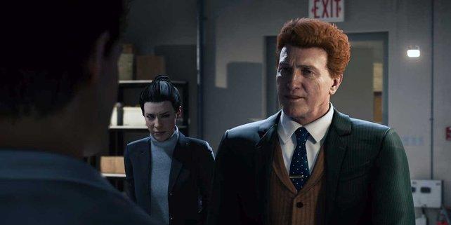 Norman Osborn in Spider-Man. Ein Immobilien-Hai, der eine politische Karriere erlebt.