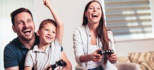 10 herzerwärmende Gaming-Momente mit der Familie