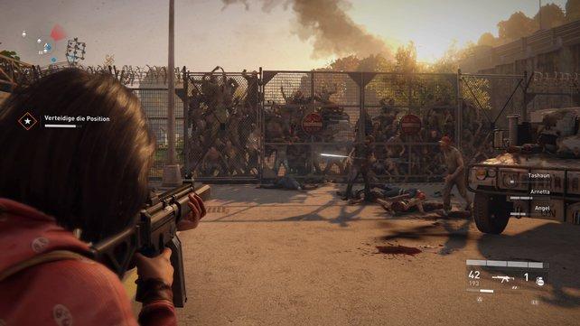 Es werden unendlich viele Zombies in New York spawnen, wenn ihr die Ankunft des Schiffes ignoriert.