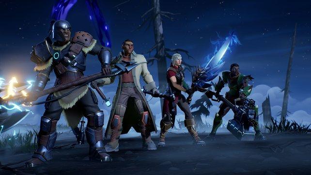 In einem organisierten Team sind viele verschiedene Waffen vertreten.