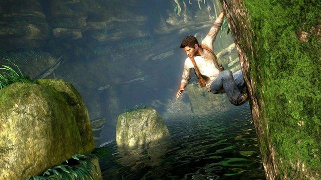 """Nur ein """"Tomb Raider""""-Klon mit männlicher Hauptfigur? Uncharted - Drakes Schicksal."""