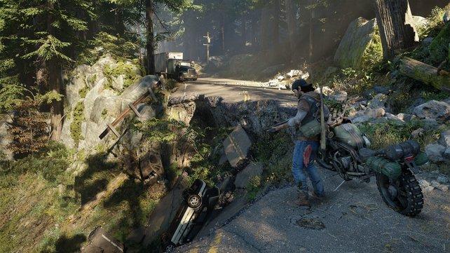 """Der hohe Detailgrad der Landschaft ist für ein """"Open World""""-Spiel bereits überzeugend."""