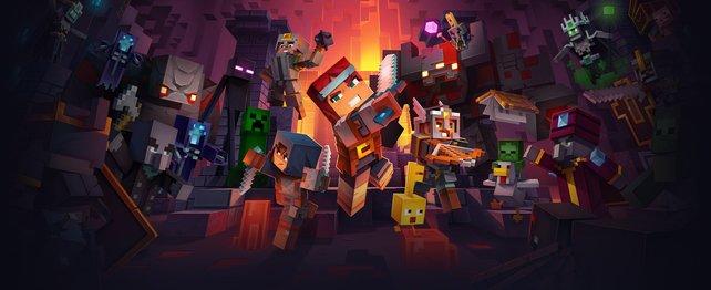 Bald geht es in Action-Rollenspiel-Manier ins Minecraft-Universum.