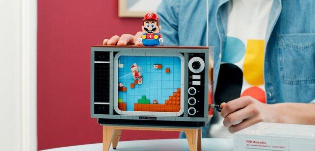 Nintendos Retro-Konsole aus LEGO sieht cool aus, ist aber teuer.