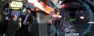 Star Wars Battle Pod: Wahnwitziger Krieg der Sterne im Pilotensitz