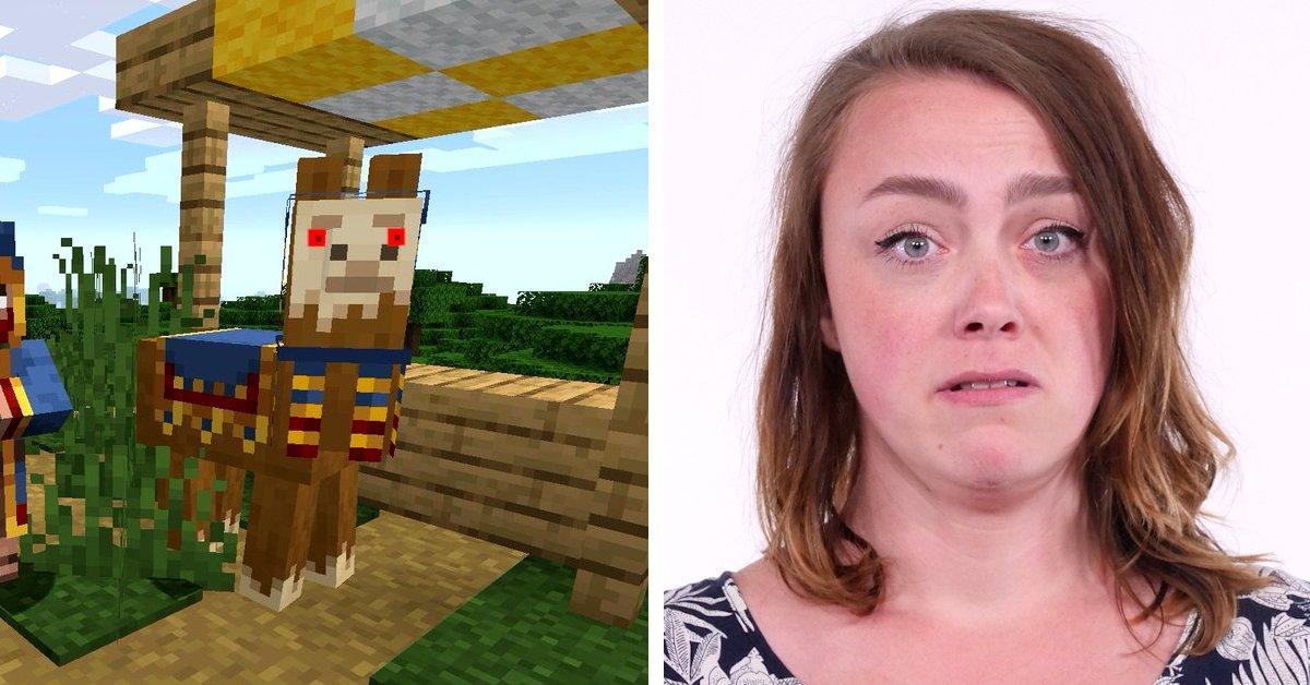 Minecraft | Schläger-Lamas wollten mich zu Tode spucken