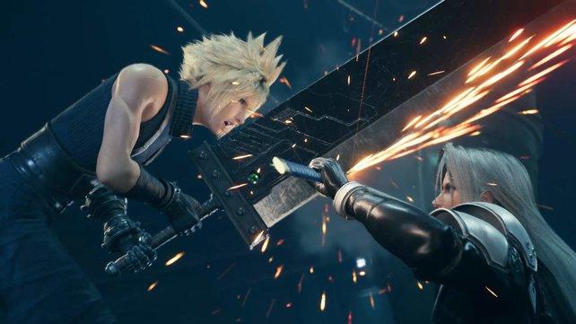 Auch das vielfach gefeierte Final Fantasy 7 Remake ist deutlich günstiger.