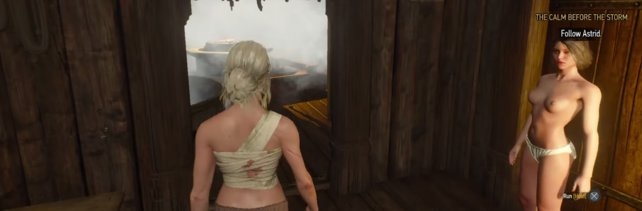 The Witcher 3: Romanzen-Guide: Sasha, Ciri & Skjall, Jutta