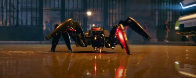 """Dürfen wir euch vorstellen? Die Hacker-Spinne, die """"Jump'n'Run""""-Spaß mit sich bringt."""