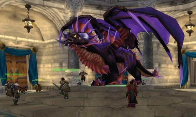 Die Drachen-Lady zeigt sich in ihrer wahren Gestalt.