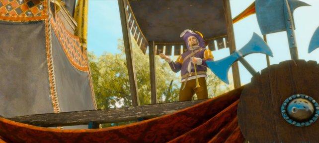 Geralt von Riva muss sich in den 5 Tugenden der Ritterlichkeiten beweisen.