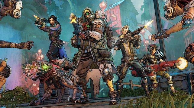 Im Koop macht Borderlands 3 noch viel mehr Spaß. Crossplay soll bald kommen!