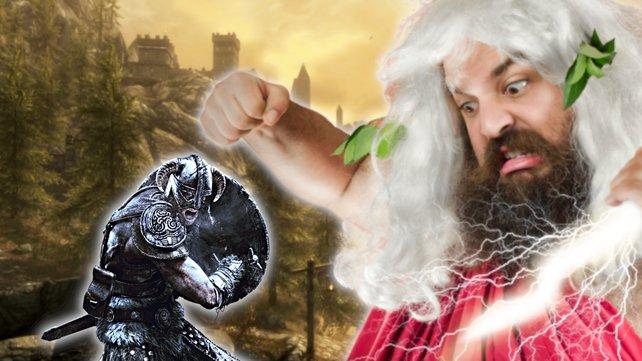 Die Skyrim-Götter sind wütend und machen das Leben eines NPCs zur Hölle. Bildquelle: Getty Images/ EzumeImages