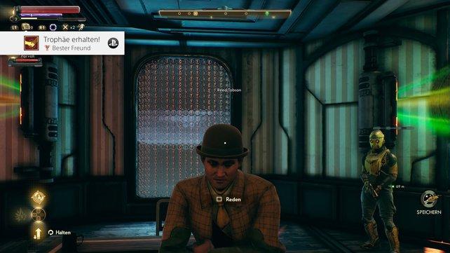 Ihr werdet im Verlauf des Spiels mit tiefgründigen und dreidimensionalen Charakteren konfrontiert.
