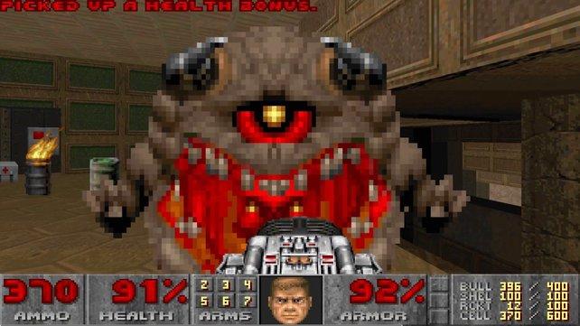 Der beliebte Klassiker Doom war eine Revolution zu seiner Zeit - jetzt kann er auf einem ganz neuen Handheld gezockt werden.