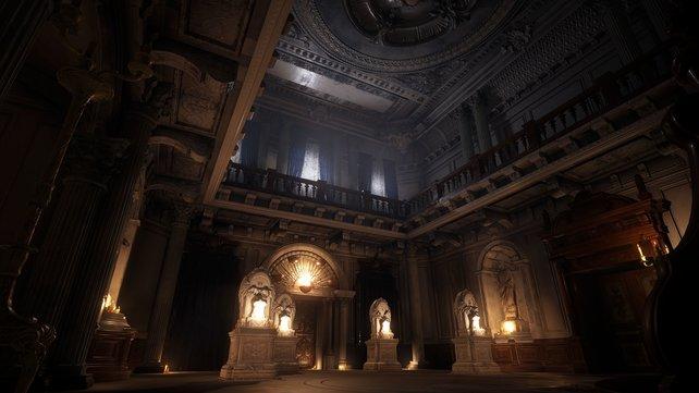Das Schloss hat viele eindrucksvolle Orte und Geheimnisse zu bieten. Gleichzeitig wollen wir bleiben und weglaufen.