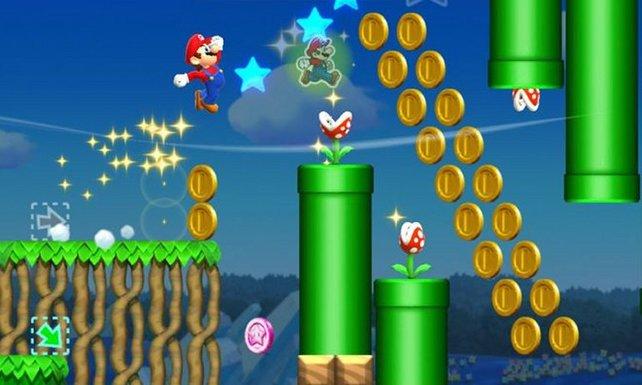 Auch in Super Mario Run ist Mario gierig nach Münzen.