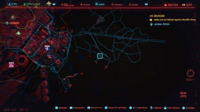 Der neunte Cyberpsycho versteckt sich in Badlands.