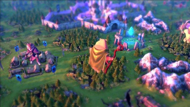 Die Variation der Skalierung verstärkt den Märchen-Charakter.