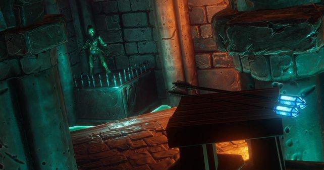 Wie in Thief gibt es Wasserpfeile, mit denen ihr Fackeln löschen könnt.