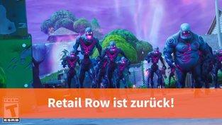 Zombie-Rückkehr in Retail Row