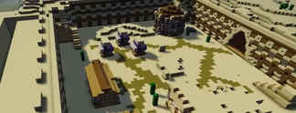 Minecraft: Spieler entwirft eine Burg, die sich selbst baut