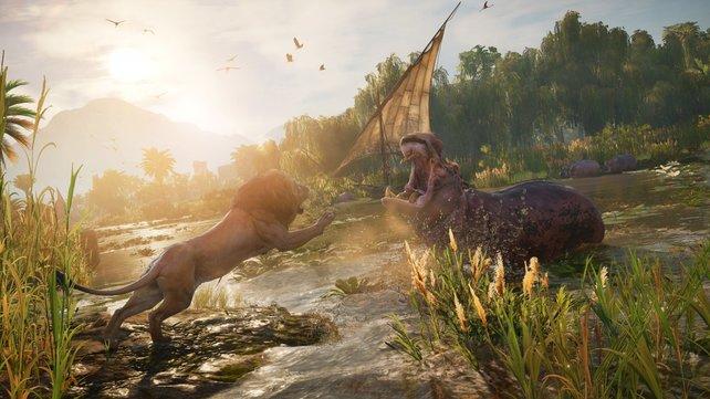 Sieht gut aus, aber nicht wirklich einzigartig: Assassin's Creed Origins.
