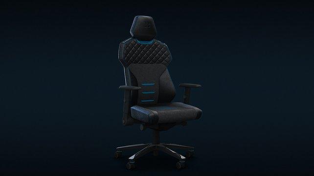 Komfort, egal wie brenzlig das Match wird: Der Backforce wurde speziell für Gamer entwickelt.