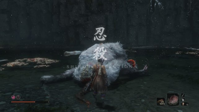 Shinobi-Exekution - der befriedigendste Bildschirm in Sekiro.