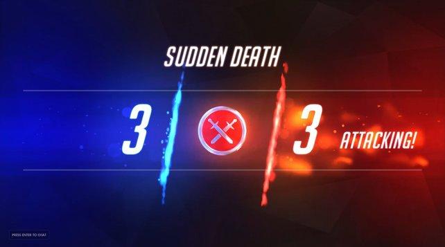 Per Sudden Death wird der Sieger eines Ranked Matches ermittelt.