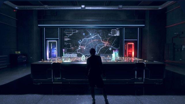 In Watch Dogs: Legion setzen die Hacker die Überwachungswaffen des Feindes gegen ihn selbst ein.