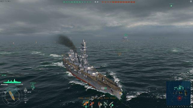 Groß, dick und mächtig - Schlachtschiffe sind die potentiall stärksten Pötte.