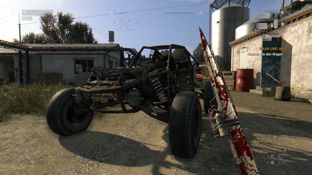 Eure erste Mission: Findet und klaut einen Buggy auf der benachbarten Farm.