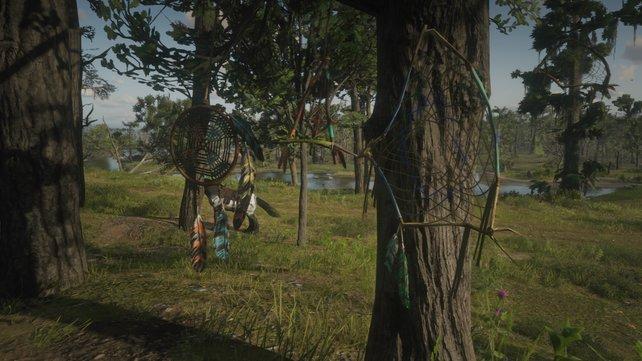 Die Traumfänger an Bäumen zu finden, ist gar nicht so einfach. Wir helfen euch dabei!