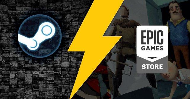 Der Epic Games Store sagt dem Giganten Steam den Kampf an.