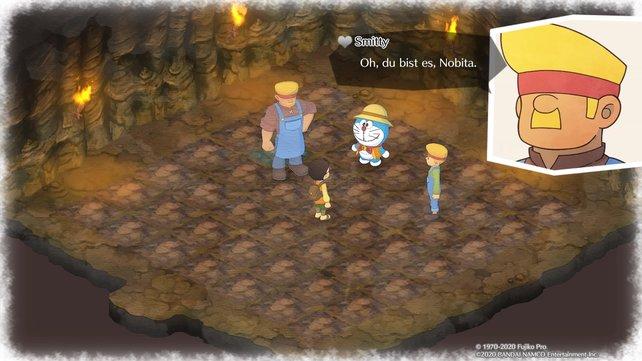 Betretet ihr die Mine das erste Mal, werden euch Blake und Smitty eine Einweisung geben.