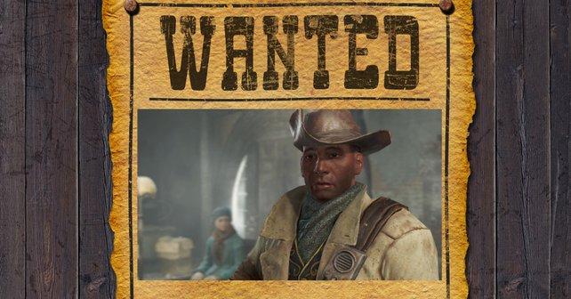 Die Spieler haben 100.000 Kronkorken Kopfgeld auf Preston Garvey aus Fallout 4 ausgesetzt. Aber es gibt noch heißere Aufträge. Bildquelle: Getty Images / Nasared.
