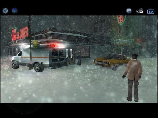 Mit wechselnden Charakteren klärt ihr Morde auf und spielt auch in der Rolle des Mörders.