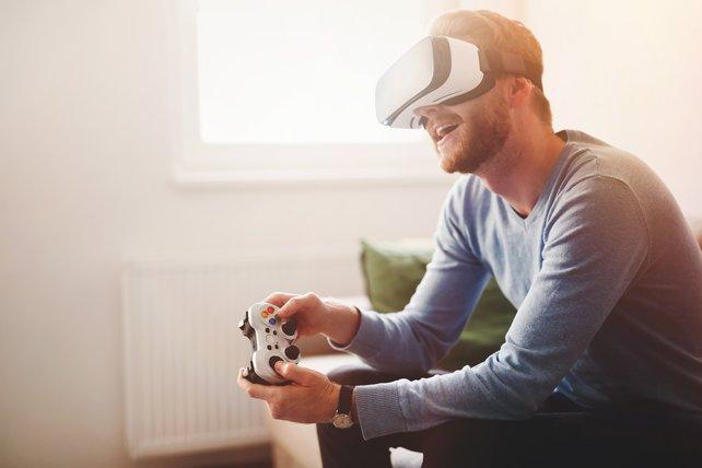 Richtiges VR-Gaming könnt ihr bisher mit einer VR-Brille an der Xbox One nicht genießen. (Bildquelle: nd3000/gettyimages)
