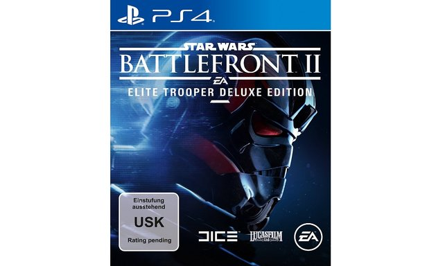 So schick ist das Cover der Star Wars Battlefront 2 - Elite Trooper Deluxe Edition.