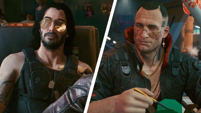 Mit Johnny und Jackie lässt sich in Cyberpunk 2077 leider kein Liebesspiel einfädeln.